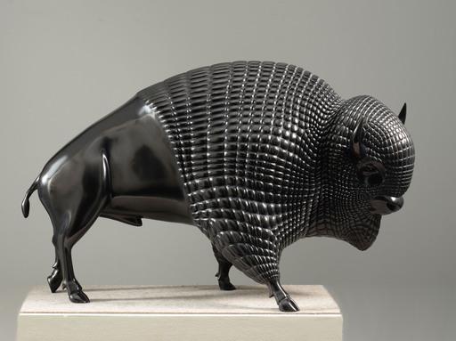 UMBERTO - Skulptur Volumen - BISON