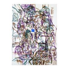 David SALLE - Grabado - Theme from an Aztec Moralist I