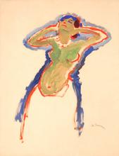 Kees VAN DONGEN - Peinture - Danseuse