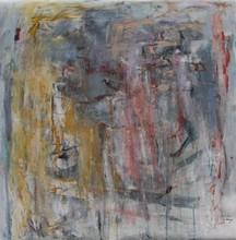 Christine Ange LEFEVRE - Peinture - Sans titre avec ocre 1