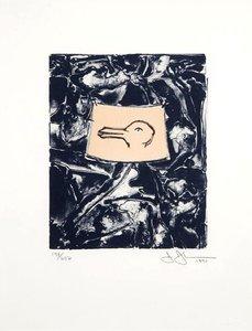 Jasper JOHNS - Druckgrafik-Multiple - Untitled