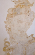 Fernando ALDAY - Pintura - Testa di donna I