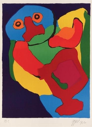 Karel APPEL - Estampe-Multiple - Dancing Man, 1970
