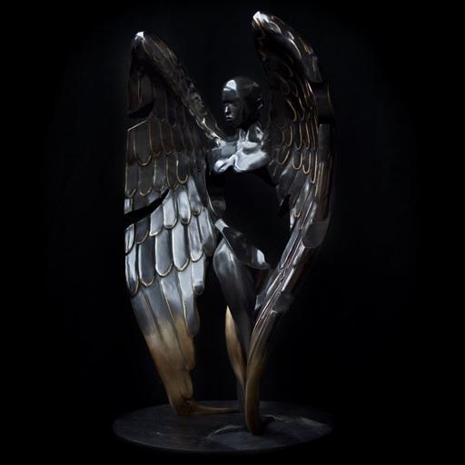 Franck KUMAN - Escultura - Messager