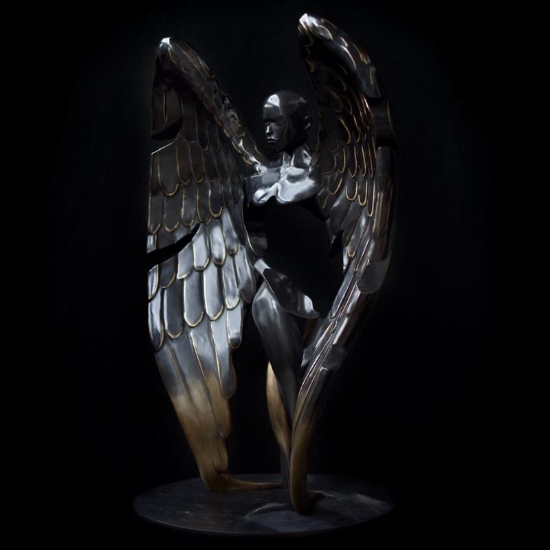 Franck KUMAN - Sculpture-Volume - Messager