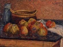古斯塔夫·罗瓦索 - 绘画 - Nature morte aux pommes