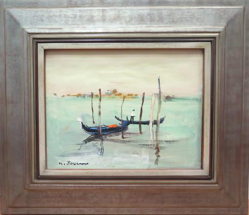 Michel JOUENNE - Peinture - Le gondolier