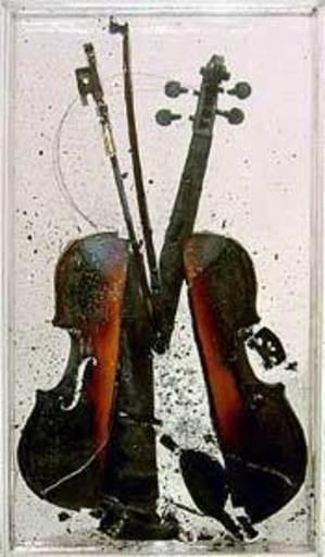Fernandez ARMAN - Sculpture-Volume - La Colère de Paganini