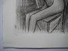 Bernard BUFFET - Print-Multiple - GRAVURE SIGNÉE AU CRAYON NUM EA/XX HANDSIGNED NUMBXX ETCHING