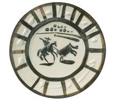 巴勃罗•毕加索 - 陶瓷  - Assiette ronde Picador
