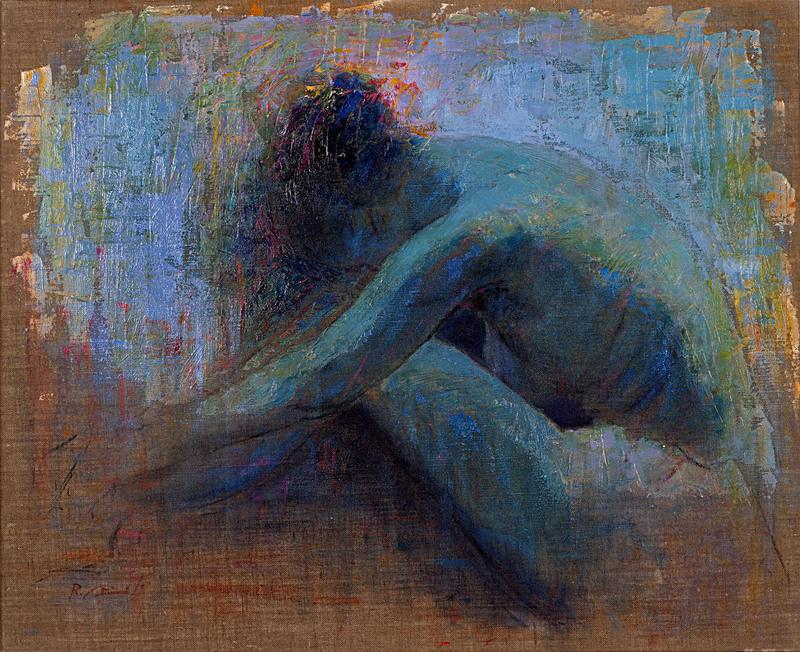 Renato CRISCUOLO - Pintura - Meditation