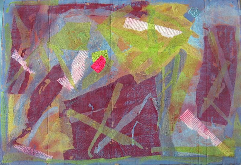 Christine GROSARU-BLETON - Pintura - Abysses
