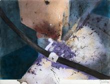 Slav NEDEV - Drawing-Watercolor - Remains of Matter