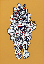 Jean DUBUFFET - Estampe-Multiple - Dénégator, from: Presences Fugaces