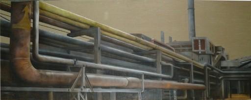 Gianfranco GENTILE - Peinture - D-Park 751 Beijing