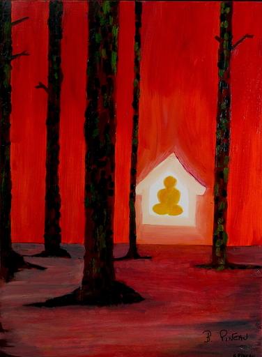 Bernard PINEAU - Painting - H010 Indestructible
