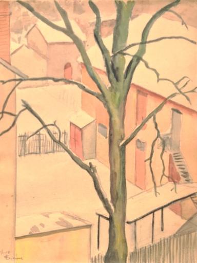 Émile LEJEUNE - 水彩作品 - paysage