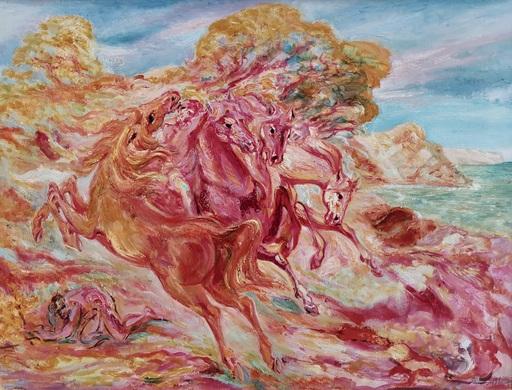 Aligi SASSU - Pintura - Il domatore di cavalli (Diomele)