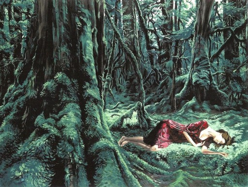 Livia PASTRE - Painting - Refuge