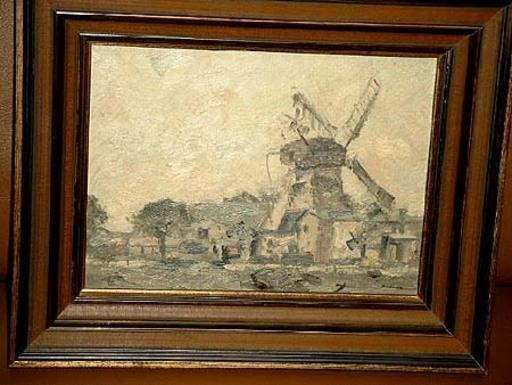 Philipp Karl SEITZ - Painting - Hittfelder Mühle