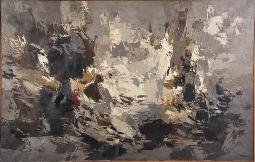 Ideo PANTALEONI - Gemälde - Matiére en mouvement