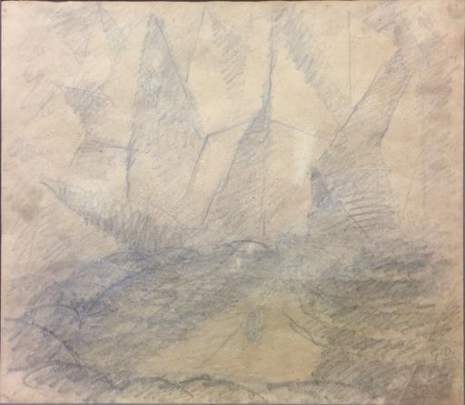 Gerardo DOTTORI - Disegno Acquarello - Composizione