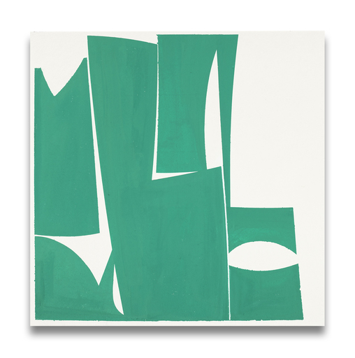 Joanne FREEMAN - Pittura - Covers 24-Green A