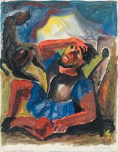 Carry HAUSER (1895-1985) - Paulussturz