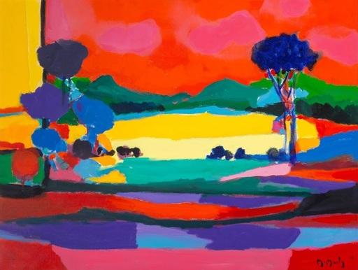 Marcel MOULY - Pittura - Avant la Moisson