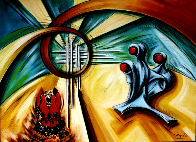 Didier ANGELS - Pintura - Tentations