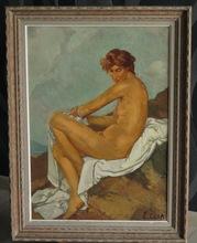 Esther CARP (1897-1970) - Nu féminin