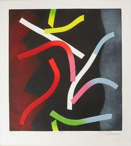 Bertrand DORNY - Druckgrafik-Multiple - Néon II