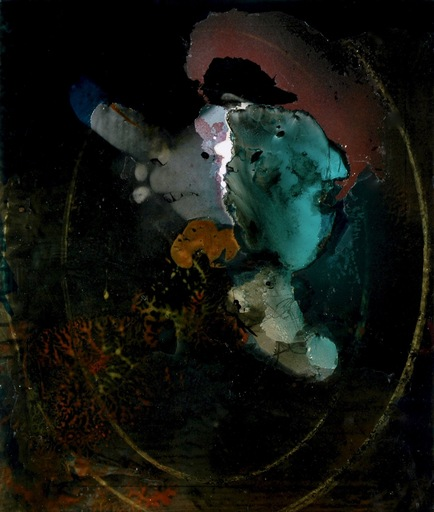 Jim DELARGE - Painting - L'homme au corail