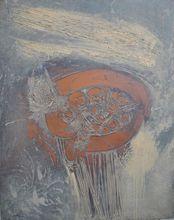 René Charles ACHT - Gemälde - nid d'oiseau