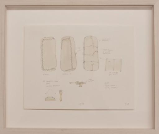 Gianfranco BARUCHELLO - Dibujo Acuarela - Untitled