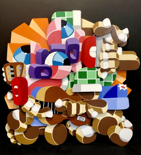 Fabrice ANNEVILLE CONSTANCE - 绘画 - Harmonica