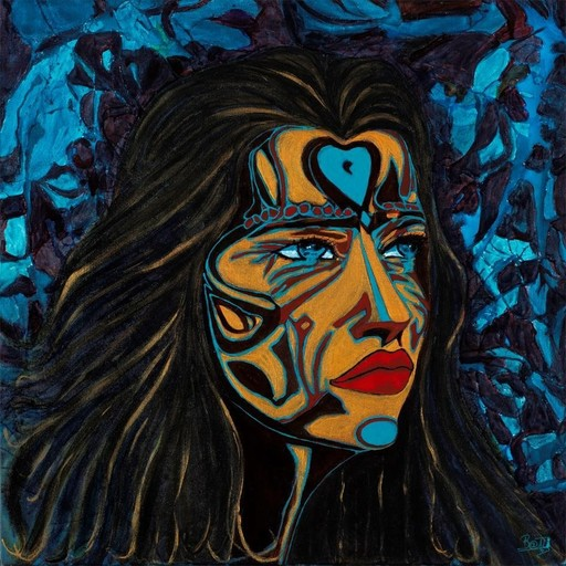 BATLI - Painting - Pharaonne