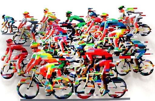 David GERSTEIN - Escultura - Racing
