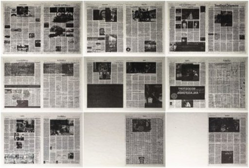 Jacob KASSAY - Stampa-Multiplo - Frankfurter Allgemeine