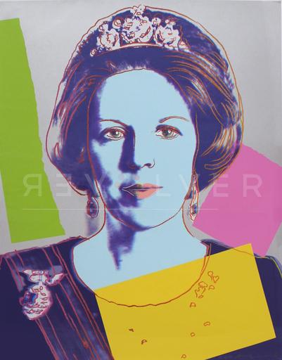 Andy WARHOL - Stampa-Multiplo - Queen Beatrix (FS II.340)