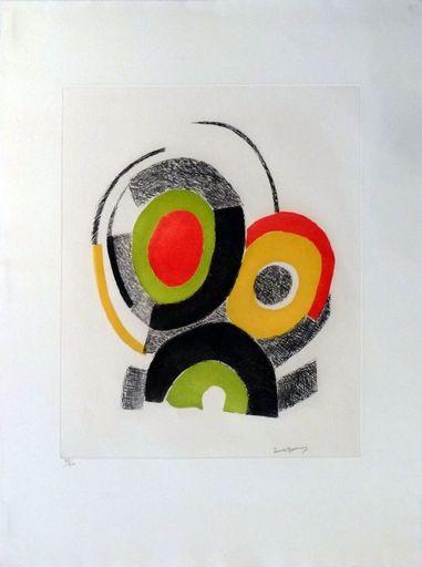 Sonia DELAUNAY-TERK - Print-Multiple - Les illuminations de Rimbaud
