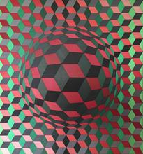 维克多•瓦沙雷利 - 绘画 - Pulsar - 3