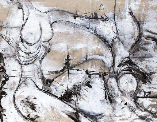 Guillaume KALT - Dibujo Acuarela - Soeurs    (Cat N° 6139)