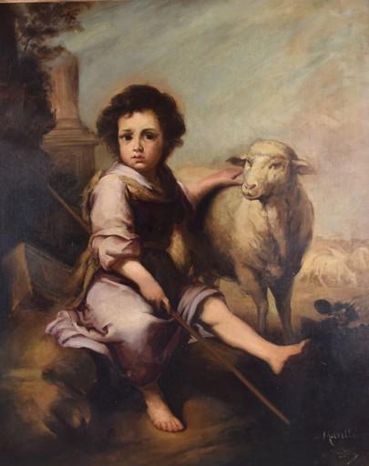Ricardo BRUGADA Y PANIZO - Gemälde - Sin titulo