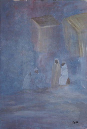 Kyna DE SCHOUEL - Peinture - Caravansérail