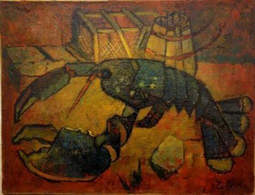 Louis TOFFOLI - Pintura - Breton Lobster