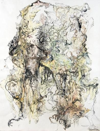 Bernard SCHULTZE - Zeichnung Aquarell - Ohne Titel
