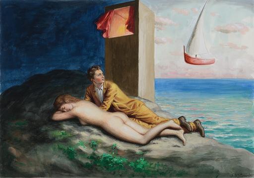 Stefano DI STASIO - Painting - Risveglio
