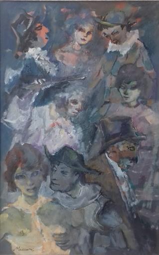 Mino MACCARI - Pintura - Figure