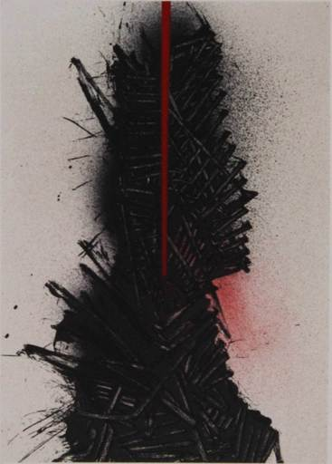 Emilio SCANAVINO - Estampe-Multiple - Untitled